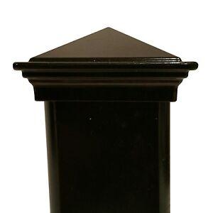 Nuvo Iron 2 Quot X 2 Quot Pyramid Ornamental Aluminum Post Cap For