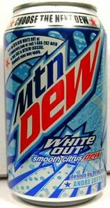 Mountain-Dew-White-Out-FULL-NEW-12oz-355ml-Can-Limited-Edition-Pepsi-USA-2009