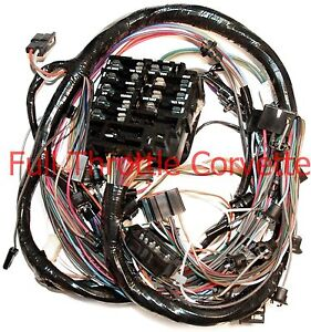 1968 corvette dash wiring harness new | ebay  ebay