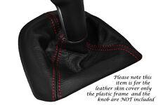 red stitch FITS PORSCHE 997 CARRERA BOXSTER 987 LEATHER GEAR GAITER