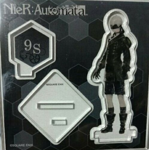 Square Enix NieR Automata Acrylic Stand Figure 2B A2 9S set of 3 Cafe Limited