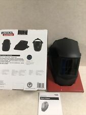 Lincoln Electric Basic Welding Helmet With No 10 Lens New Damaged Box