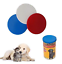 THUKRAL HAULAGE LIMITED Set of 3 Can Covers Storage Cat Dog Pet Food Tin Lids