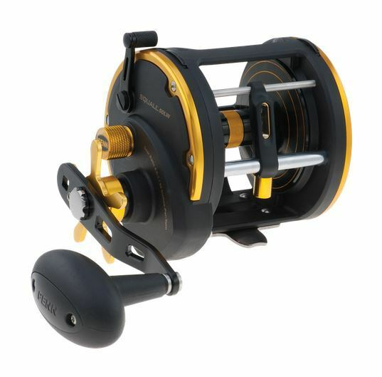 Penn Squall 20 Levelwind / / Levelwind Sea Fishing Multiplier Reel / 1292940 f43e5e