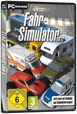 PC Spiel * Fahr-Simulator 2012 * Bus Polizeifahrzeug Krankenwagen Abschleppwagen