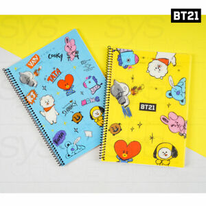 BTS BT21 Official Authentic Goods Monthly Planner By Kumhong + Tracking Number