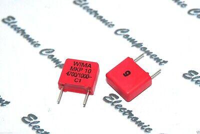 400V 5/% pich:10mm Capacitor 10pcs WIMA FKM3 3900P 3900PF 3.9nF