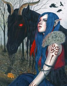 Beautiful Evil Fantasy Art