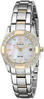 Citizen Eco Drive EW1824-57D Ladies Sapphire Diamond Paula Creamer 26mm Watch