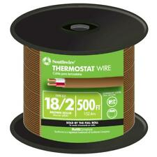 Southwire Solid Thermostat Wire 500 Ft 182 Brown