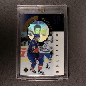 WAYNE-GRETZKY-1996-UPPER-DECK-SP-FX10-HOLOVIEW-F-X-INSERT-CARD-NHL-HOF