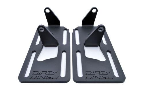 88-99 LS 2WD Chevrolet Adjustable Swap Mounts Plain Steel DD-2550C