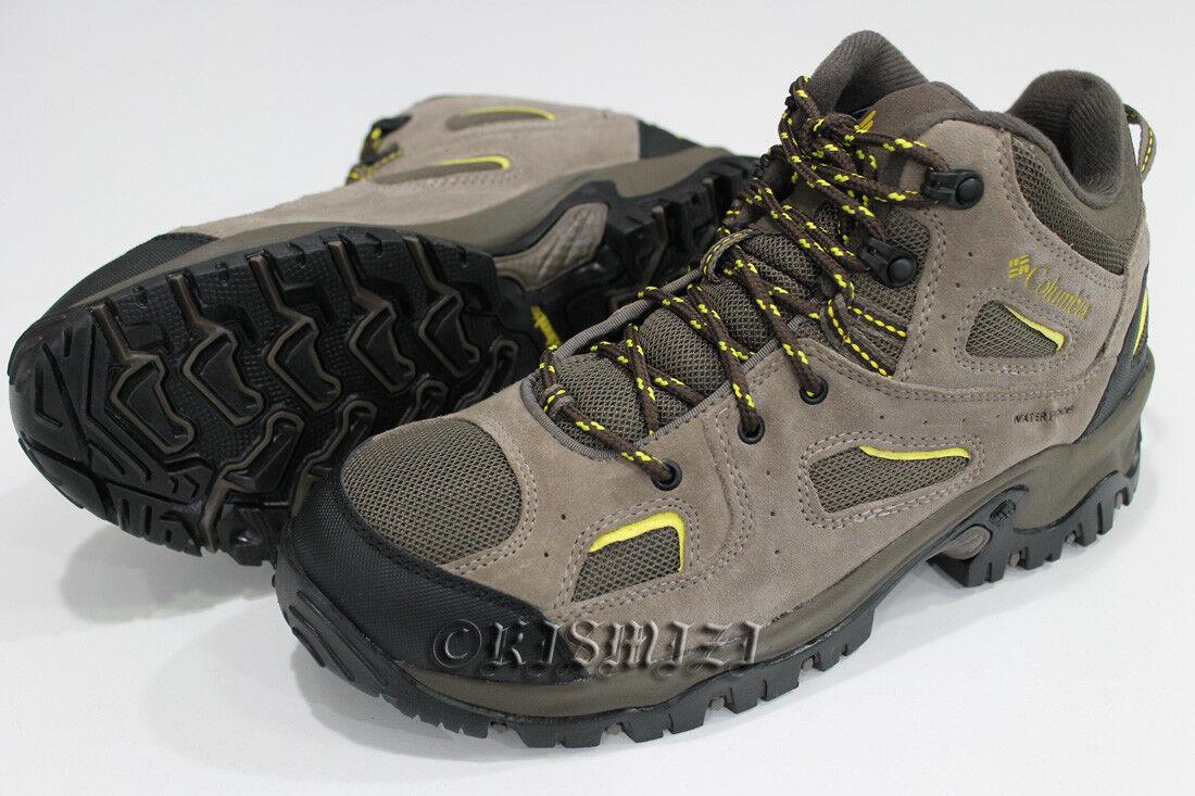 New Mens Columbia  Coretek II  Omni-Grip Waterproof Lightweight shoes Boots Wide