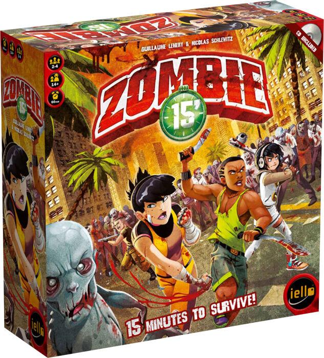 ZOMBIE 15' - Board Game (Iello Games)  NEW