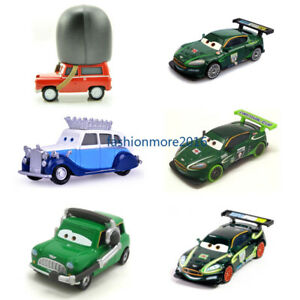 Cars 2 Toys Lightning Mcqueen Uk Racers The Queen Metal Toy Car 1 55 Loose New Ebay