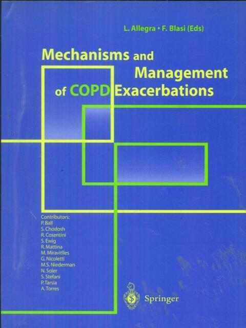 MECHANISMS AND MANAGEMENT OF COPD EXACERBATIONS  ALLEGRA - BLASI SPRINGER 2000