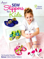 Sew Adorable Slippers For Kids 8 Slipper Patterns For Quilting, Fleece, Faux Fur