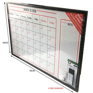 Monthly Organiser Memo Work Time Table Planner Notes Notice Board - Free table planner