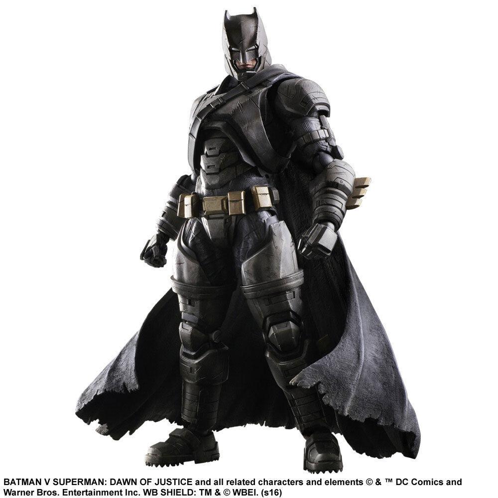 Batman v Superman Dawn of Justice Play Arts Kai Figure Armored 9 13 16in Enix