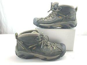0d89a8c94aa KEEN Men s Targhee II Mid Wide WP Hiking Boots 1013124 Black Olive ...