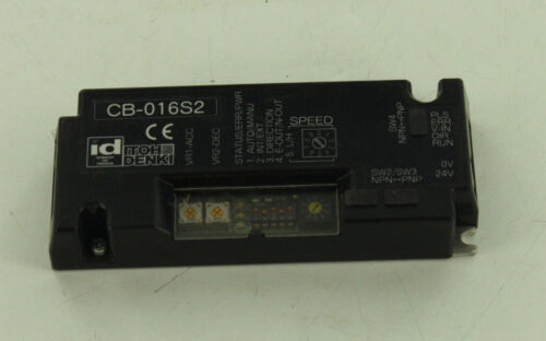 ITOH DENKI CB-0016S2 POWER ROLLER CONVEYOR MOTOR DRIVER CARD