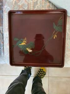 Lacquer-ware-serving-tray