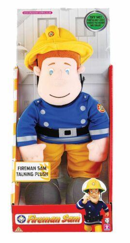 "Fireman Sam 12/"" Talking Soft Plush Toy"