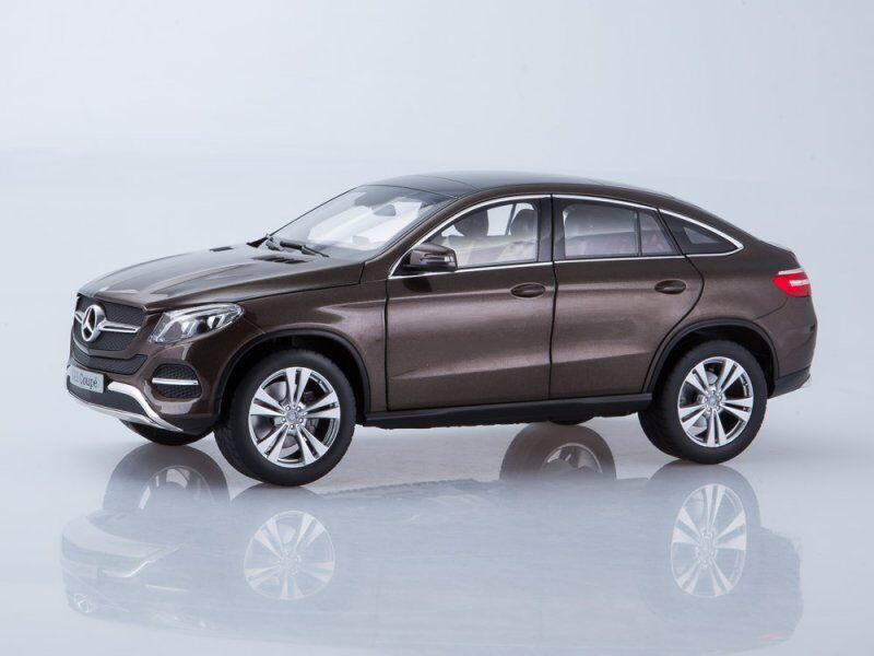 Scale model 1/18 Mercedes GLE GLE GLE Coupe, metallic-Marrone 8631ae