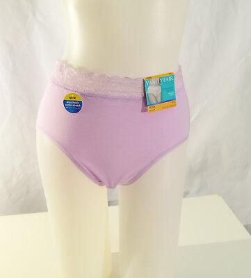 Vanity Fair Women S Flattering Lace Cotton Stretch Brief