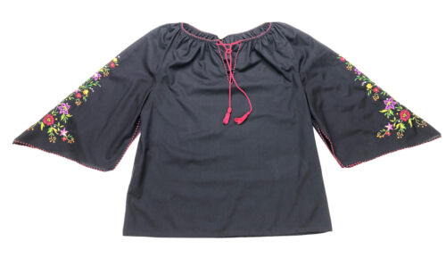 Hungarian Peasant Blouse, Vintage, Hand Embroider… - image 1
