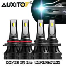 Combo 90059006 Led Headlight Kit Cree 40000lm High Low Beam Bulb High Power