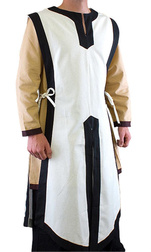 Larp Jerkin Sleeveless Basic Medieval Tabard Renaissance Costume Tunic [