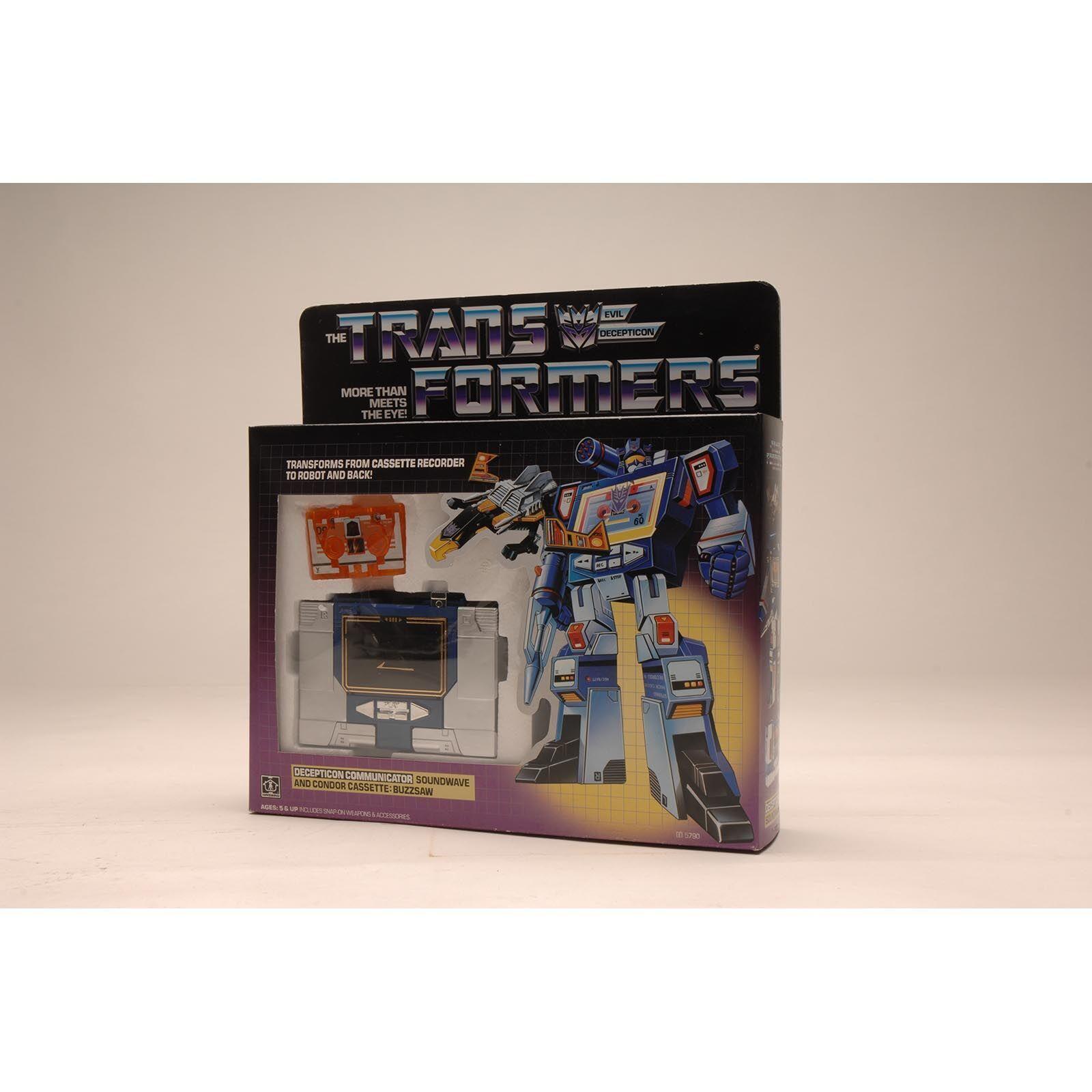 tienda de venta en línea Transformers G1 G1 G1 Decepticon Soundwave con Buzzsaw  contador genuino