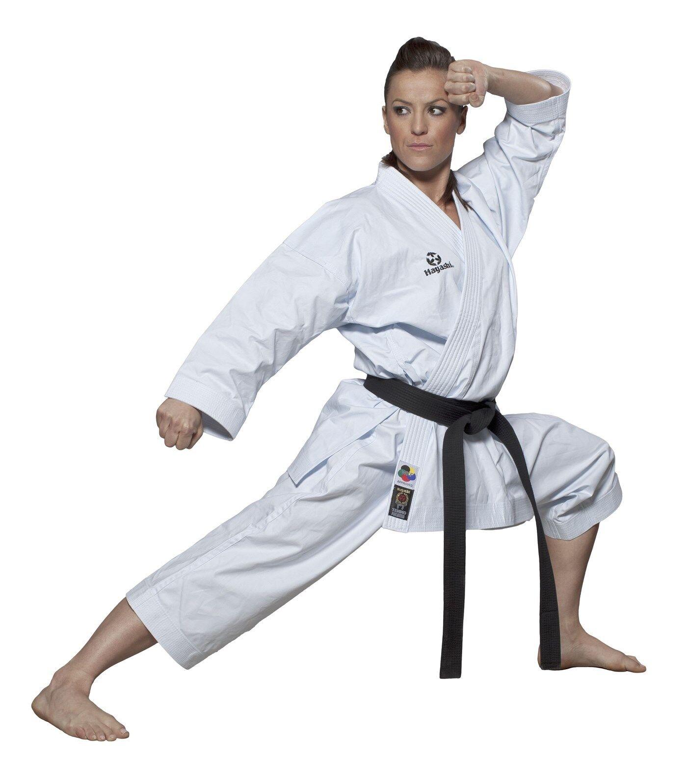 Kata Karate Gi. HAYASHI. Tenno Premium Premium Premium II (WKF approved). 160cm. Karateanzug, SV 2ec0f7
