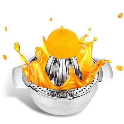 Zitruspresse Zitronenpresse Entsafter Fruchtpresse Orangenpresse Saft Edelstahl | eBay