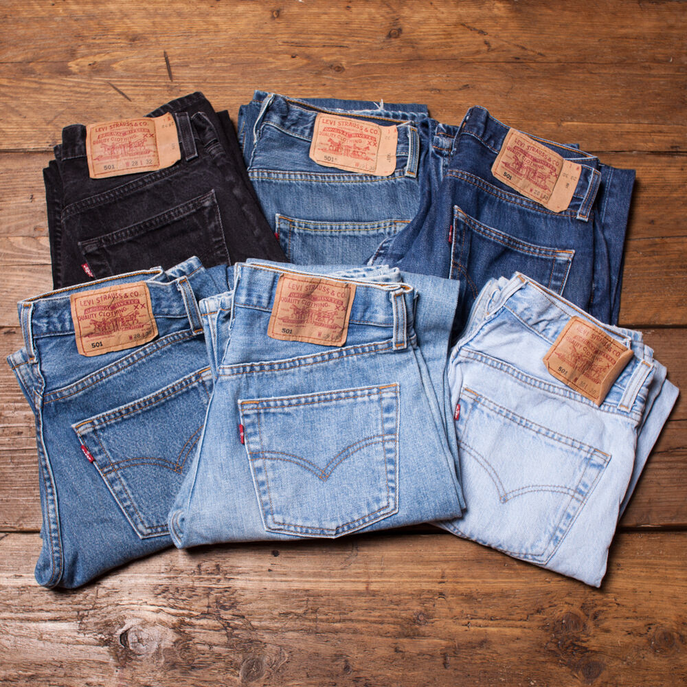 new list 2019 factory price best choice Womens Vintage Levis 501 Mom Boyfriend Jeans Grade A High Waisted 26 27 28  29 30