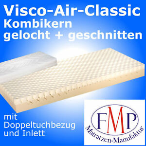 fmp viscomatratze visko air classic h2 matratze 90x200 ebay. Black Bedroom Furniture Sets. Home Design Ideas
