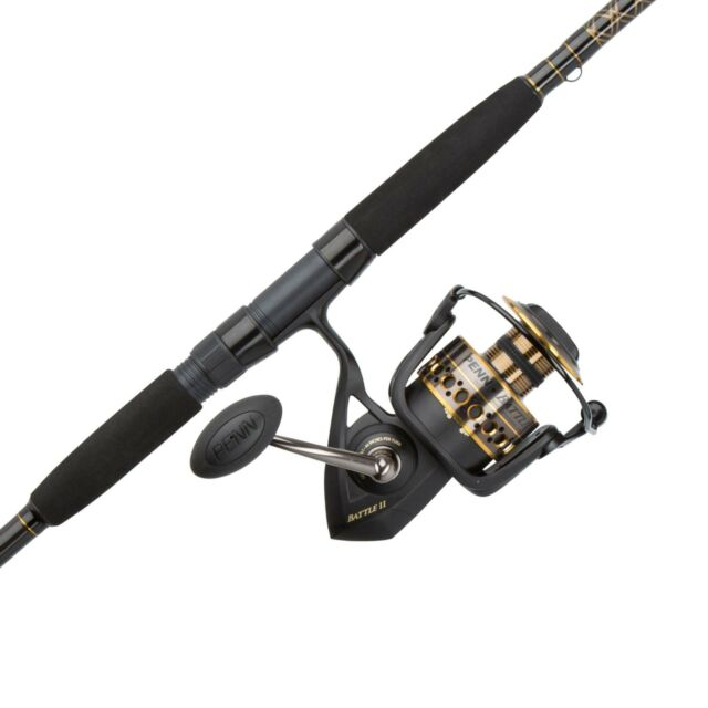 Penn Pursuit Ii 8000 Fishing Rod And Spinning Reel Combo Surf 10 Feet For Sale Online Ebay