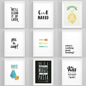 Kitchen Prints Framed Cooking Es, Dining Room Posters And Prints