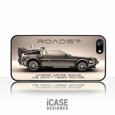DeLorean Back to the Future Car Phone Case Cover for iPhone 4/4s 5 5s 5c & iPod