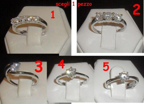 anello argento 925 solitario scegli 1  compra e e mandaci mail con pezzo scelto