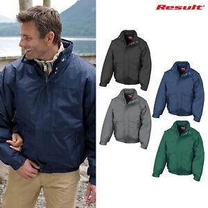 Result Unisex Shoreline Waterproof Blouson Jacket R105X Winterwear Warm Coat