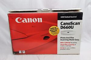 NEW DRIVERS: CANON D66OU