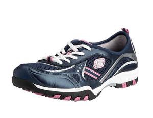 mystical' Skechers Cordones 'muse Color Con Zapatillas Bajo Navy Mujer Rosa vqPUqfF