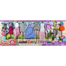 MATTEL BARBIE FASHIONISTAS DOLL CLOTHES FASHION PACK DRESS OUTFITS MY FAB LIFE