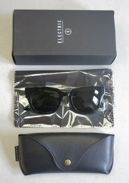 4e65ea5986 Electric Authentic Sunglasses 40FIVE Gloss Black Grey NEW! EE12301601! 31681