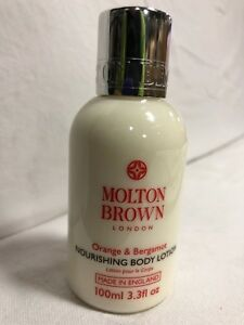 MOLTON-BROWN-ORANGE-amp-BERGAMOT-NOURISHING-BODY-LOTION-400-ML-4-x-100ml-ITEM-FM10
