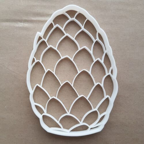 Dragon Egg Pine Cone Shape Cookie Cutter Dough Biscuit Pastry Stamp Sharp