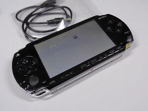 Sony-PSP-1003-Piano-Black-Playstation-Portable-GUARANTEE