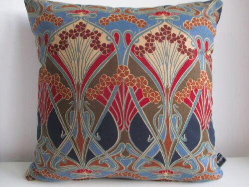Liberty Arts Patricia COTON motif fleuri rose /& turquoise en Velours Housse De Coussin